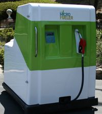 The MicroFueler allows consumers to create ethanol using only sugar, yeast and water.