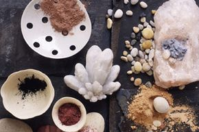The makings of mineral makeup