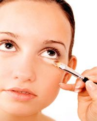 If you don't blend your concealer well, it can look too obvious.