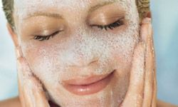Noncomedigenic cleansers should clear your makeup off without clogging your pores.
