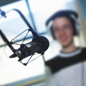 Microphones capture vocals along with different instruments which are then mixed using MIDI recording software.