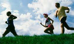 Running with friends allows you to have fun and push each other to new heights at the same time.