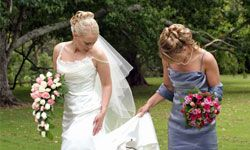 Above all, be genuine when expressing feelings about your special relationship with the bride.