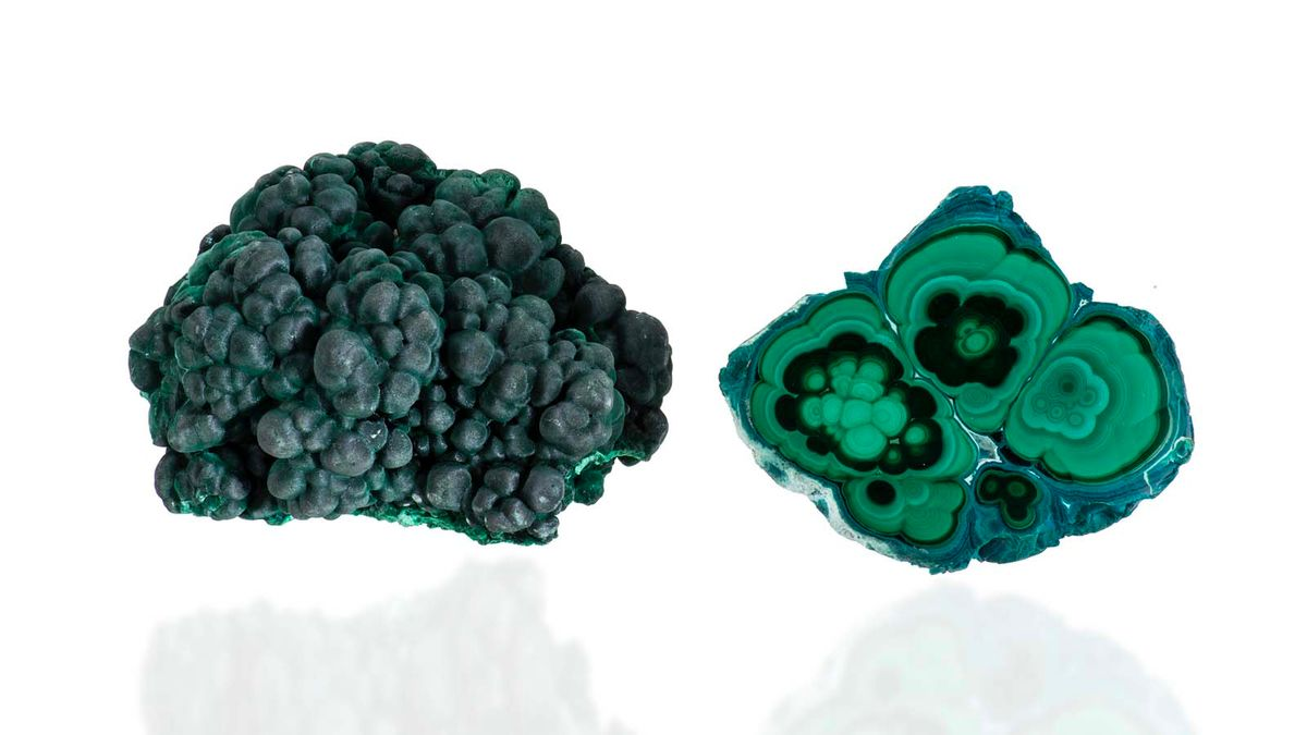 マラカイトはクレオパトラが身に着けたゴージャスなグリーンの宝石です