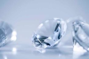 If tucked-away diamonds suddenly flooded the market, this precious gem would seem a lot less precious.