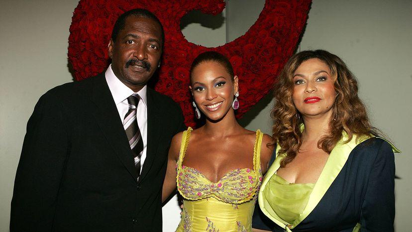 Beyoncé, Mathew and Tina Knowles