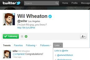 You can use Twitter itself to categorize those you follow into lists (like Wil Wheaton here), and even view others' lists  and follow them if they're public.