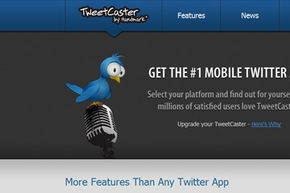 TweetCaster is a mobile-specific application for using Twitter and available on nearly every device.