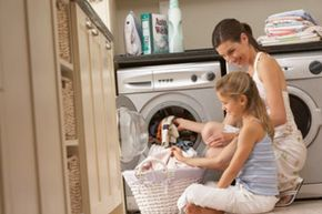 Kids can contribute to some household chores, too. See more parenting pictures.