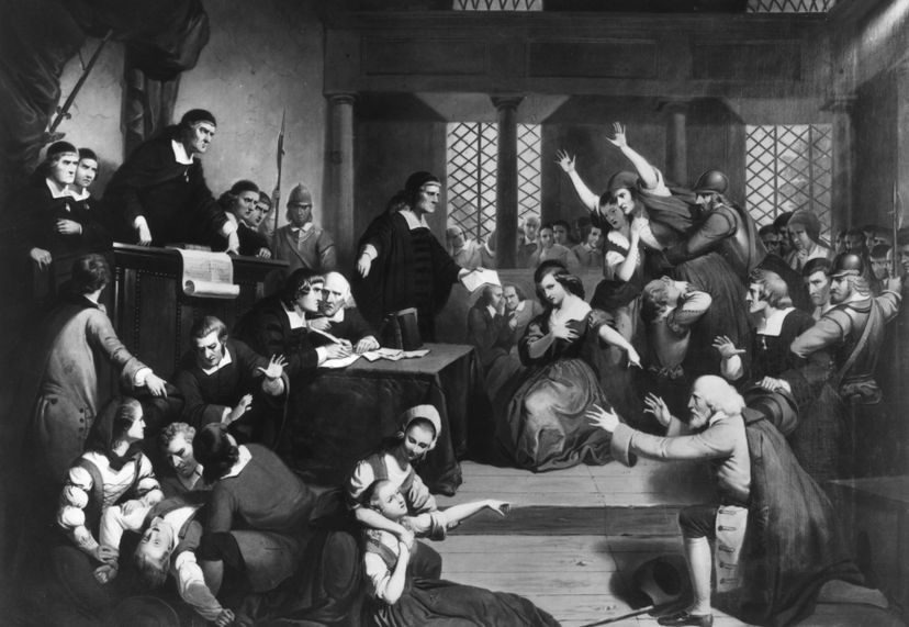 George Jacobs was one of the hundreds of people accused of witchcraft in Salem, Massachusetts in the 1690s. MPI/Getty Images