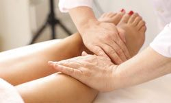Many people suffer from poor circulation in their legs and feet. A leg massage can help cure that.