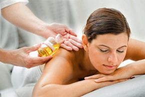 Aromatherapy massage uses the restorative properties of essential oils to relax and heal your body and mind.