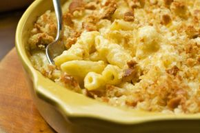 Macaroni and cheese is a bowl of warm, creamy comfort. See more pictures of comfort foods.