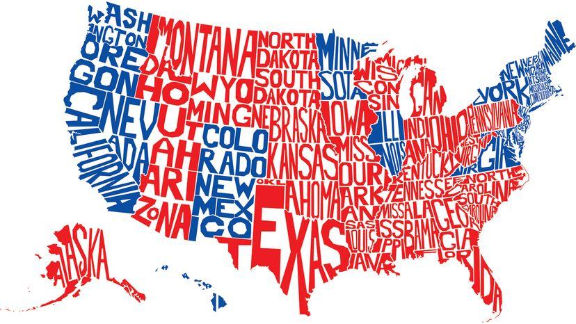 electoral college, map
