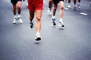 Marathons require strength, power, and endurance.