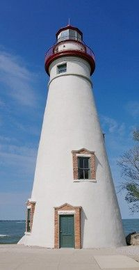 The oldest active lighthouse on the Great Lakes, Marblehead Lighthouse is located on the headland of a peninsula that projects into the southwest corner of Lake Erie. See more lighthouse pictures.