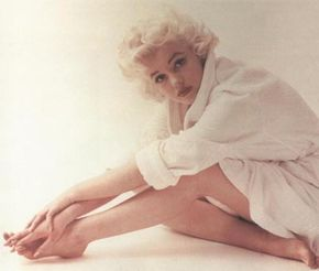 Images such as this show the strain that Marilyn felt throughout her lifetime. See more pictures of Marilyn Monroe.