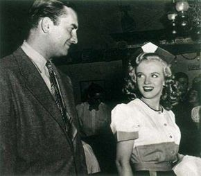 The juvenile-delinquent drama Dangerous Years had a bit part for Marilyn, who played a waitress.