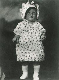Norma Jeane Mortenson was born in Los Angeles to Gladys Raker Mortenson.