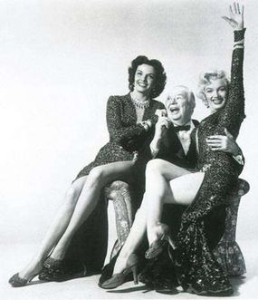 Charles Coburn's on-screen attentions to his leading ladies -- particularly Marilyn -- are lecherously funny.