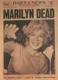 Marilyn's death stunned the world.