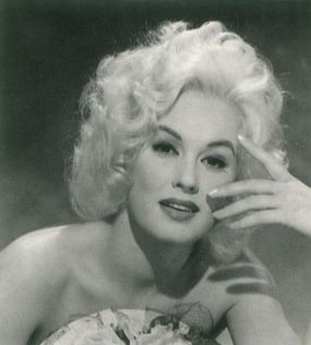 """Universal Pictures touted Mamie Van Doren as """"the girl built like a platinum powerhouse,"""" but her career stalled in B-movies."""