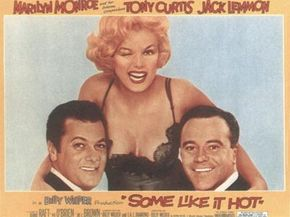 A witty ad campaign highlighted Some Like It Hot's powerhouse cast.
