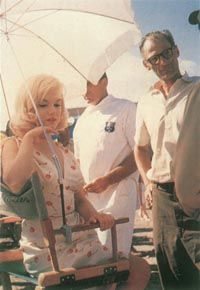 Marilyn's emotional distress                              during the filming of The Misfits was problem enough, but an added obstacle was the unbearably hot Nevada weather.