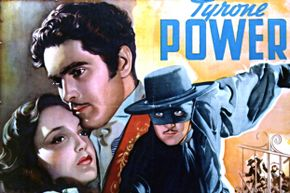 """Tyrone Power, who starred in the 1940 film """"The Mark of Zorro,"""" met a tragic fate while filming a movie in 1958."""
