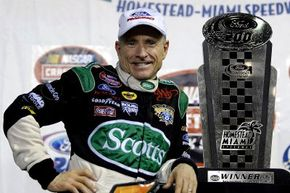 Mark Martin has endured heartbreaking personal tragedy in his quest for the elusive NASCAR championship. See more pictures of NASCAR.