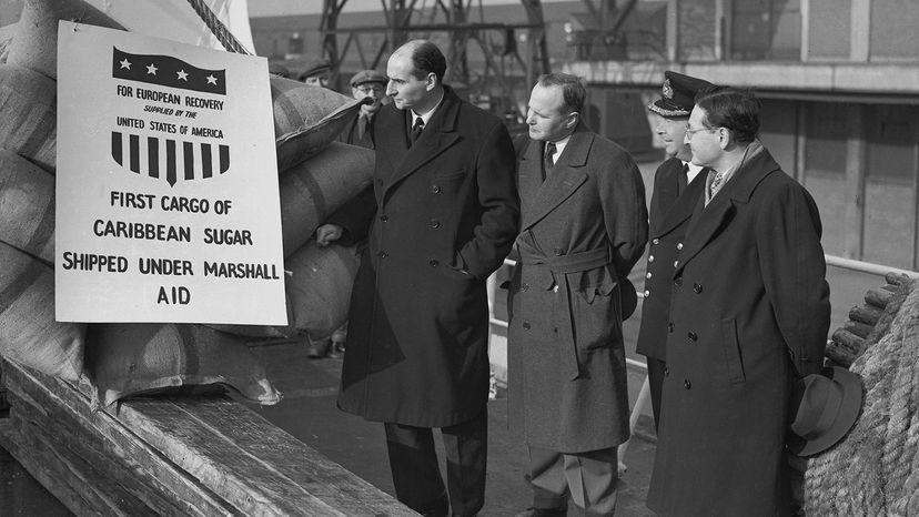 Caribbean sugar, 1949
