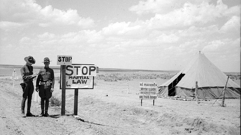 Colorado martial law