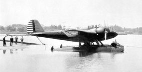 Of 48 Martin B-10 bombers delivered to the U.S. Army Air Corps in 1934, an unspecified number with 675-horsepower Wright R-1820 Cyclone engines, or 775-horse Pratt & Whitney R-1690 Hornet engines, were converted to seaplanes.