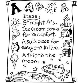 'I Have a Dream' Scroll Martin Luther King Jr. Day Activity