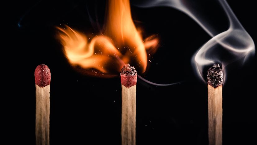 matches, odor