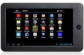 Screenshot from Maylong's M-270 tablet