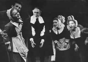 """Arthur Miller's play """"The Crucible"""" was a not-so-subtle criticism of McCarthyism."""