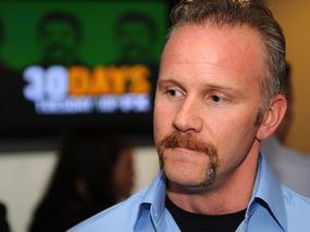 """""""Super Size Me"""" documentarian Morgan Spurlock took it upon himself to have a McDonald's-only diet for a month. The damage to his health alarmed viewers and caused backlash against McDonald's."""