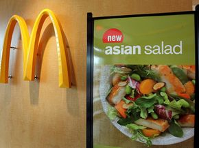 McDonald's put out premium salads after receiving harsh criticism aboutits unhealthy food.