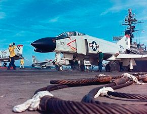 The McDonnell Douglas F-4 Phantom II was far from aesthetically pleasing, but its versatility and fearsome armament capability assure its place as one of the world's most effective and feared fighters. It dominated combat aviation in the 1960s, and proved its mettle during the Vietnam War. See more military jets pictures.