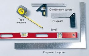 Measuring and marking tools will provide you with precise measurements and even placement during your next home repair project. See more pictures of hand tools.