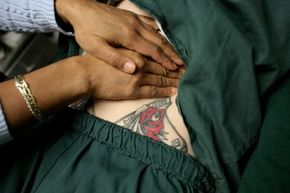 The medical tattoo is a permanent alternative to the medical bracelet.