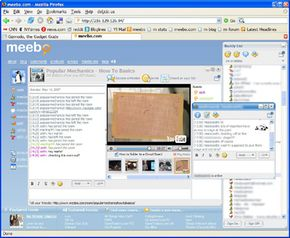 Meebome is a widget that lets users post their blog so visitors can IM directly.