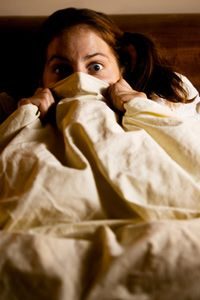 The boogeyman is scary, but he's no match for the melatonin surging through your brain. See more sleep pictures.
