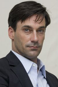 """On AMC's """"Mad Men,"""" Jon Hamm plays a character who frequently cheats on his wife. See more pictures of kissing."""