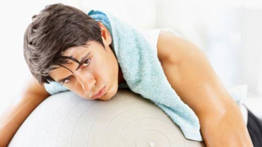 Should men shower before a workout?