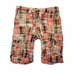 Madras shorts come in every color combination out there.