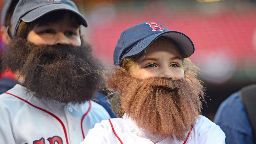 Men's beards, germs