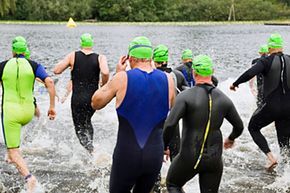 Many triathletes consider the swim the toughest part of a triathlon. Are you mentally prepared?