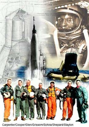 Project Mercury sent the first American to outer space in 1961.